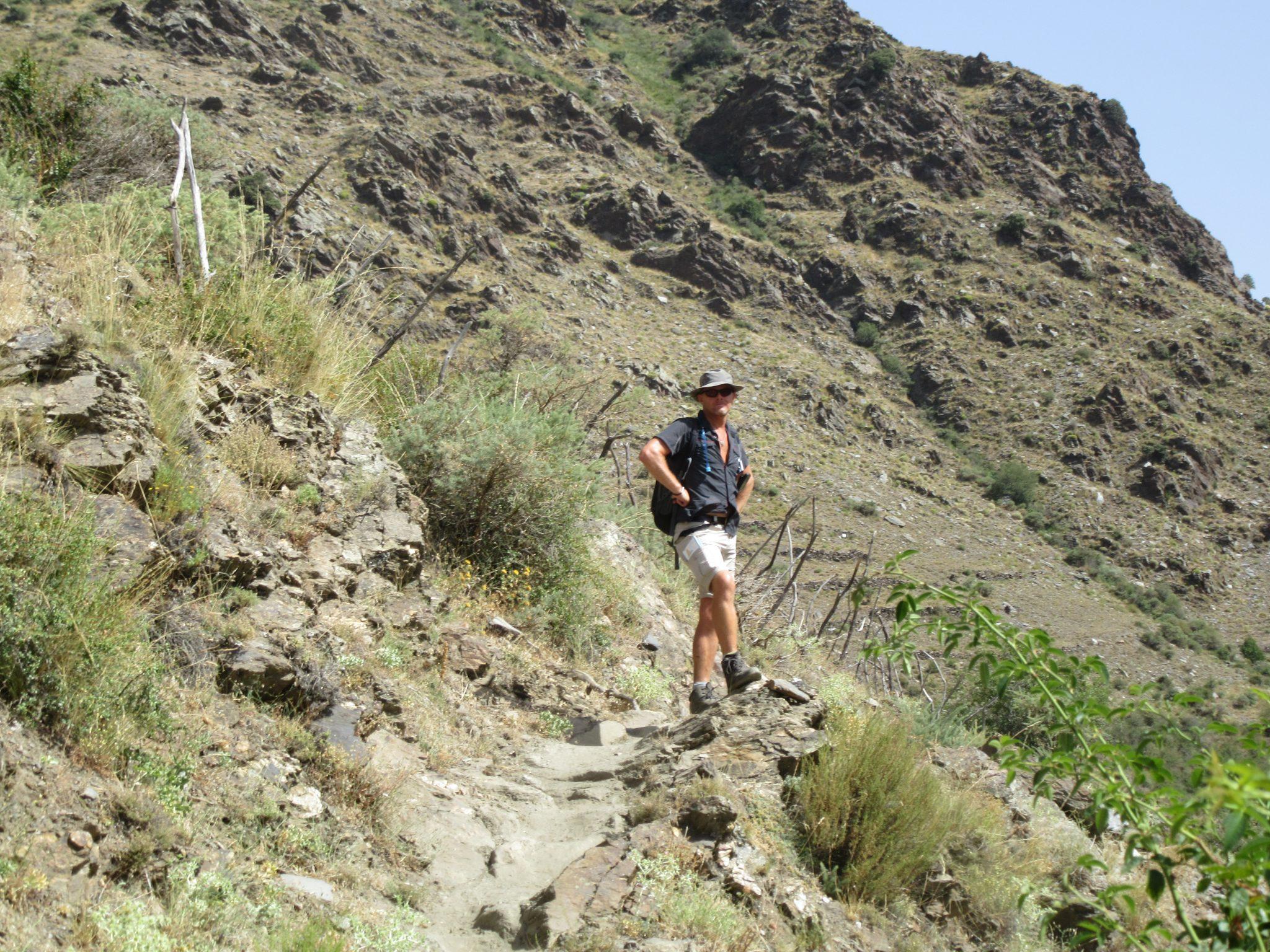 mountain walking alpujarras spain walk andalucia
