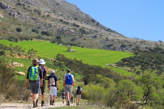 walking holiday spain landscape